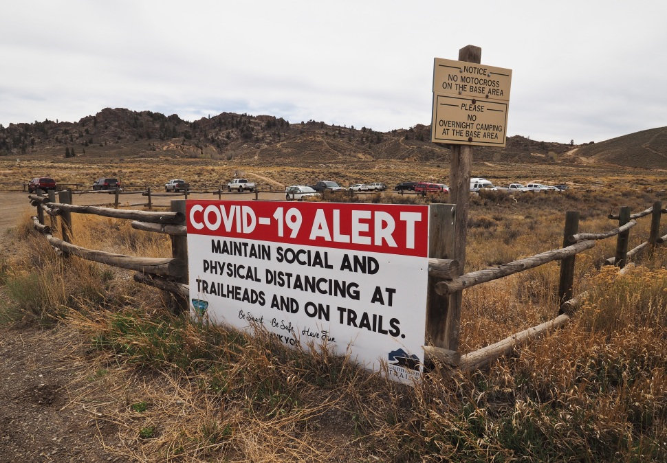 Gunnison Country has 106 positive COVID-19 cases and 5 deaths and is one of the most highly infected areas per capita in Colorado.