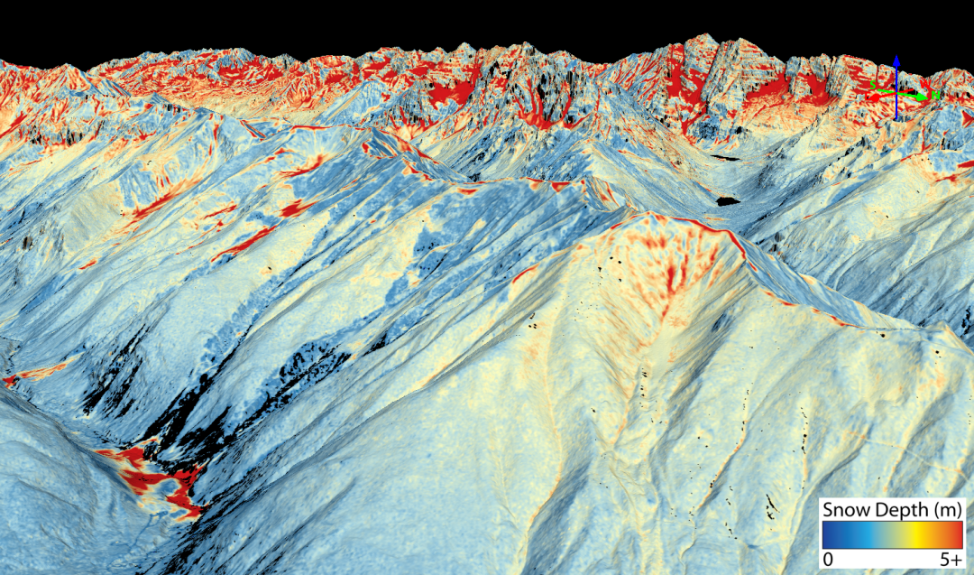 Satellites, airplanes and lasers are tracking Colorado avalanches