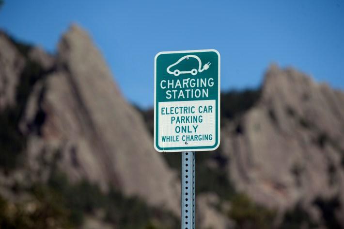 EVs electrification charging stations NCAR Flatirons