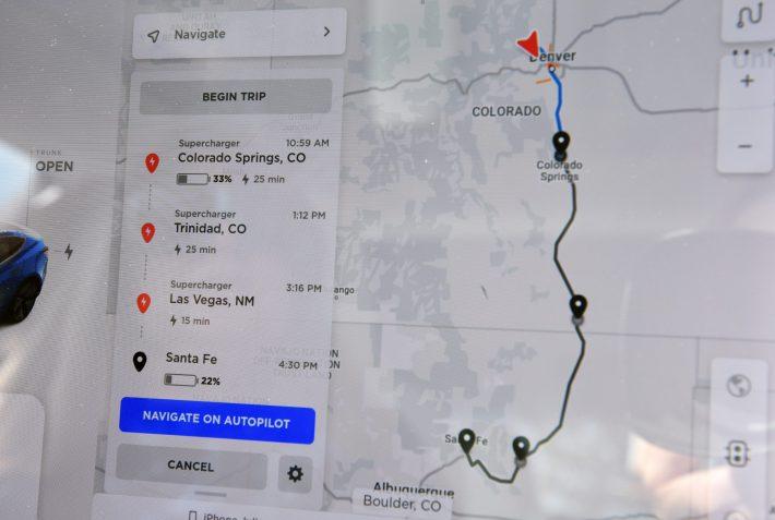 EVs Tesla charging app electrification charging stations