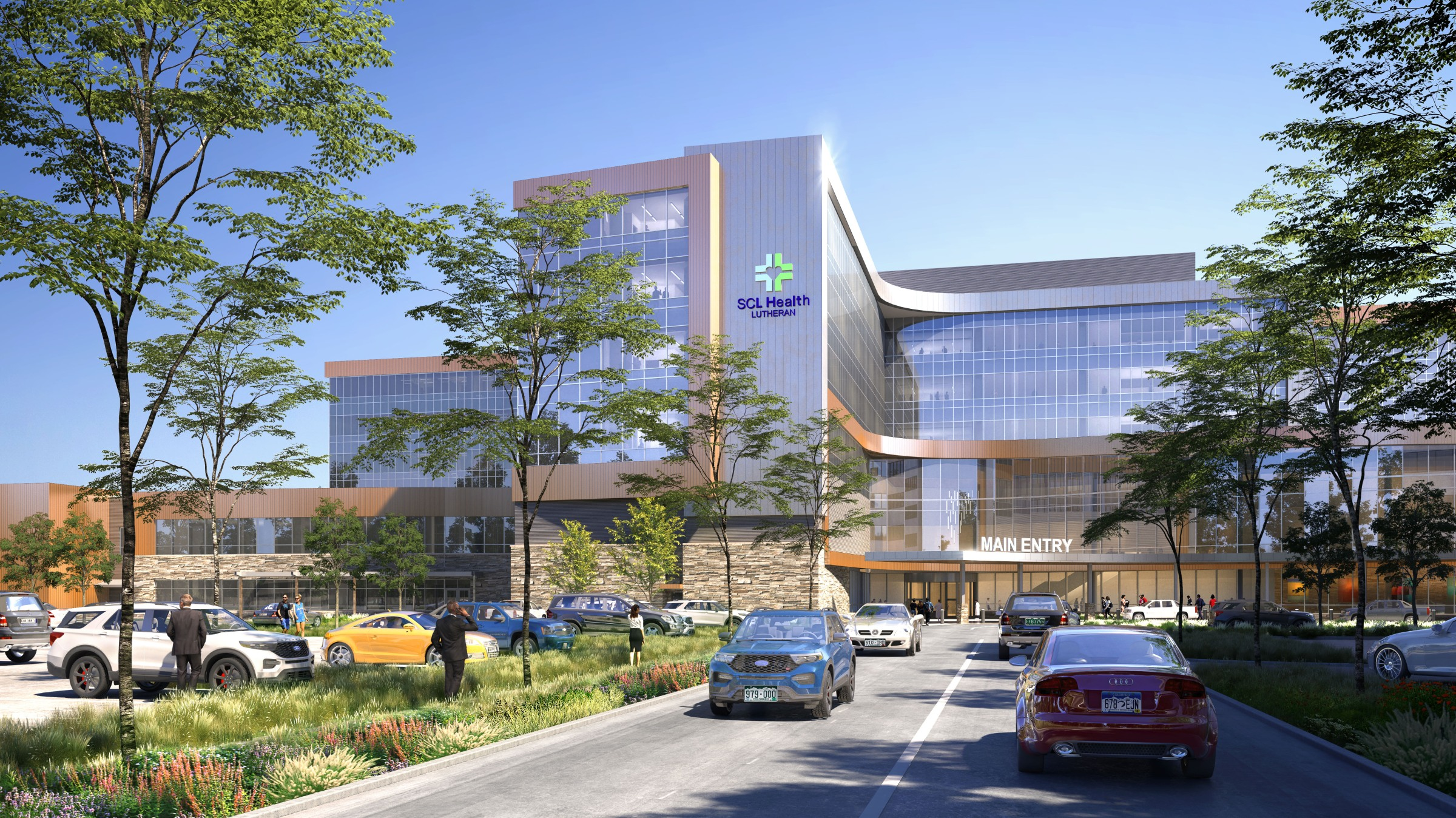 Lutheran Medical Center new location Wheat Ridge Clear Creek Crossing new campus