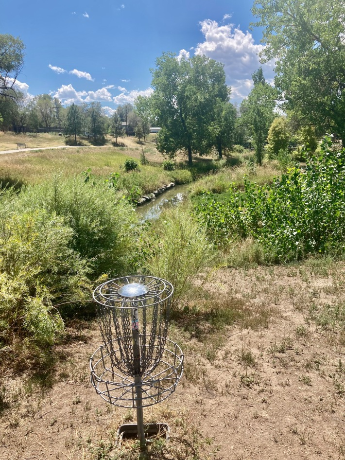 Denver Water study dry creeks disc golf Lakewood Gulch Dry Gulch confluence Denver parks and recreation