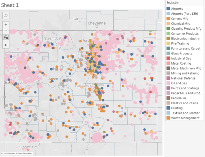 """Colorado may have more sites with dangerous """"forever chemicals"""" than any other state"""